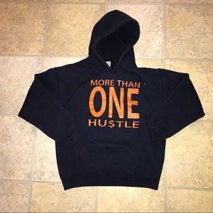 More Than One Hu$tle Hoodie Like New Sz Medium 💵